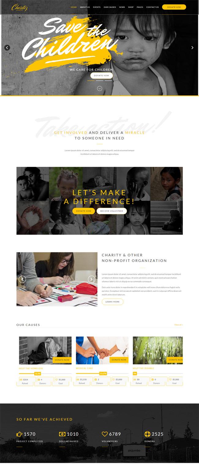 Charitiz-Charity-Donation-Auction-WP-Theme