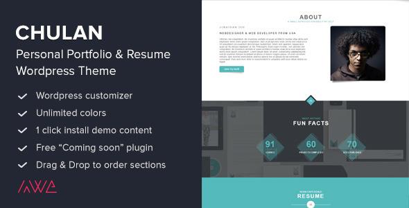 30 best responsive wordpress portfolio themes 2015 designmaz
