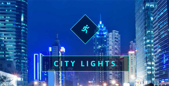City Lights One Page Muse Web Template