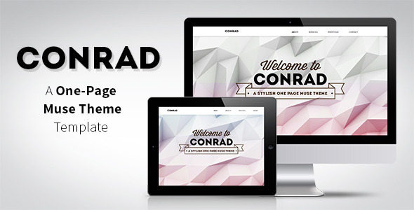 Conrad - One Page Muse Theme