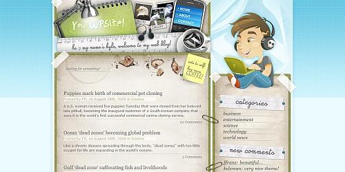 Deskspace - WordPress Blog Themes