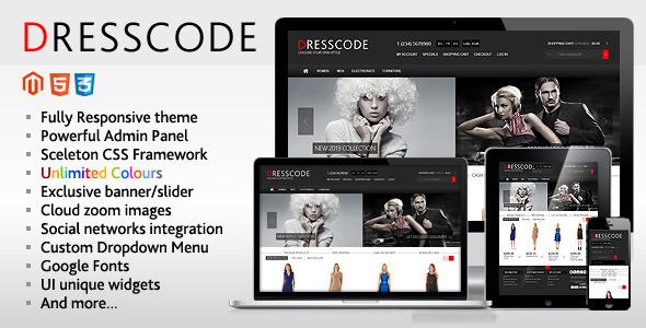 Dresscode - Responsive Magento Theme