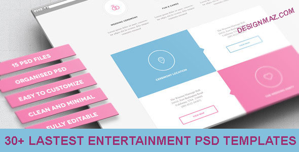 Entertainment-PSD-Templates
