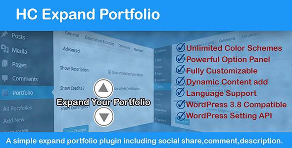 Expand Portfolio - Responsive WordPress Portfolio