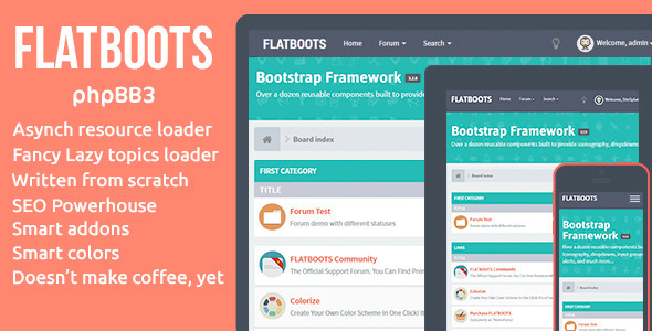 FLATBOOTS - phpBB3