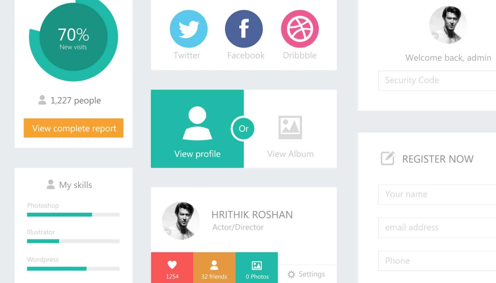 Flat UI Kit (free download!)