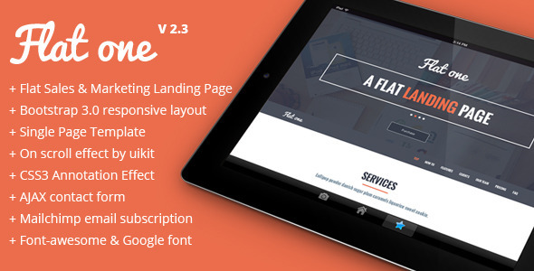 20  best html5 landing page templates