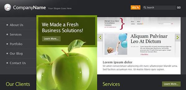 30+ Best PSD Website Templates - DesignMaz