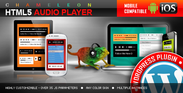 HTML5 Audio Player WordPress Plugin