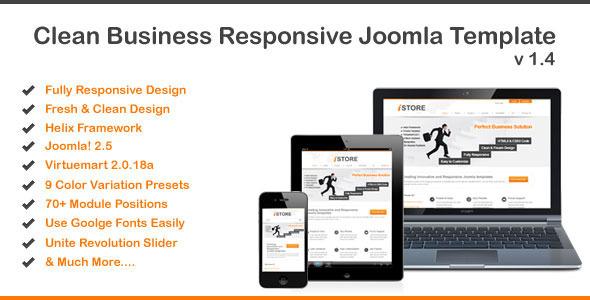 Istore - Responsive Joomla Virtuemart Template