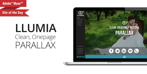 LLUMIA-Muse Wedding Template