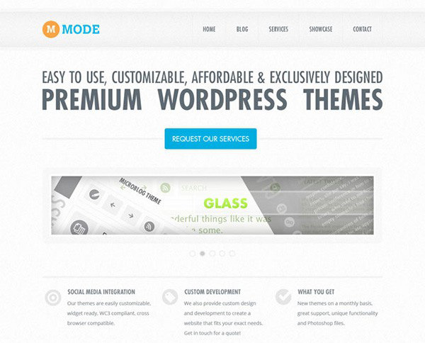 Mode – Free PSD Website Template