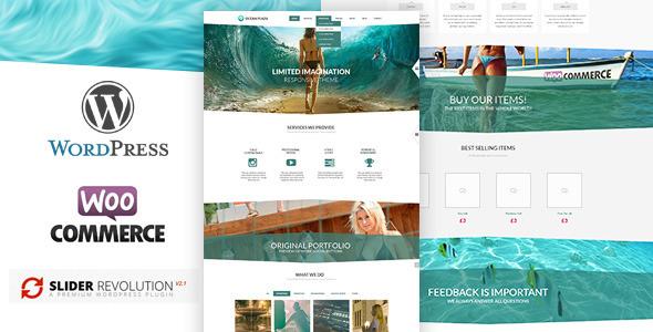 OceanPlaza WooCommerce Parallax Theme