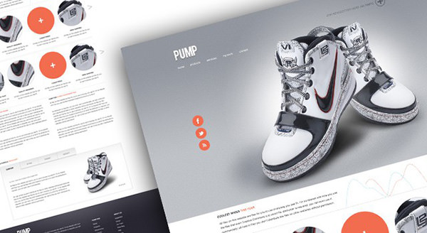 PUMP – Business PSD Template