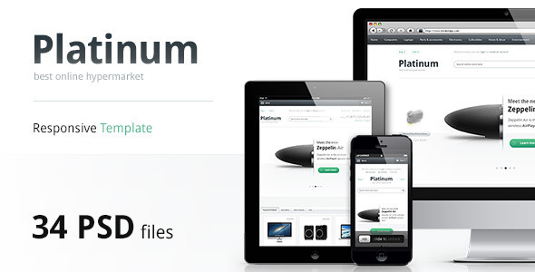 Platinum-Multipurpose PSD Template