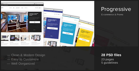 Progressive-Multipurpose PSD Template