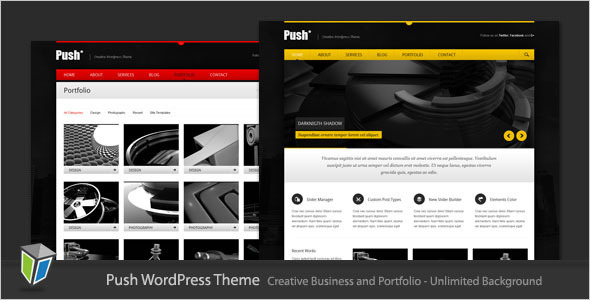 Push - Business and Portfolio WordPress Theme