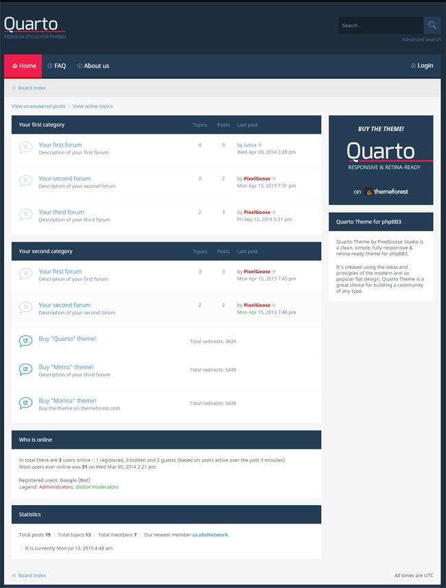 Quarto-phpBB3-Responsive-Retina-Ready-Theme