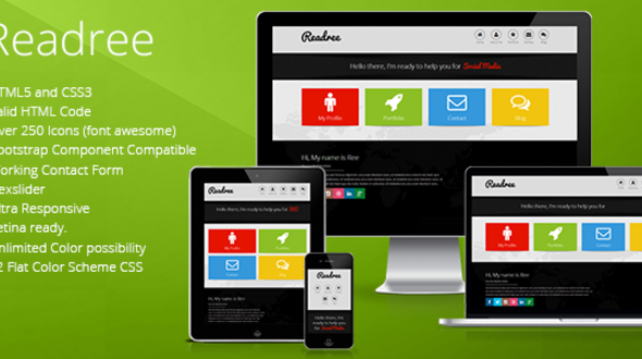 ReadRee – Multipurpose HTML Template