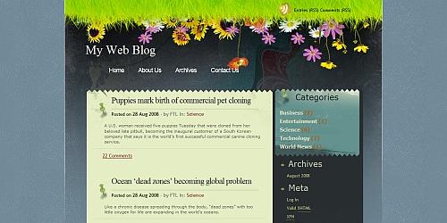 Seabreeze - Free WordPress Themes