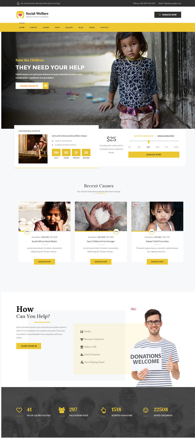 Social-Welfare-Charity-Wordpress-Theme