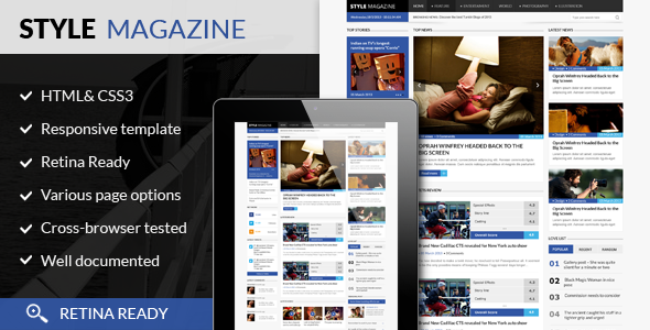 15 Latest Wordpress Magazine Themes 2014 Designmaz
