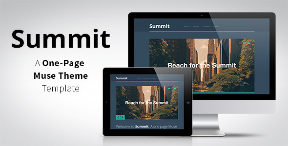 Summit - One Page Muse Theme