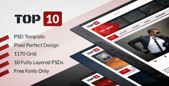 TOP 10 - Multimedia Tube PSD