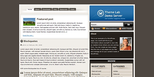 Tomodachi - WordPress Blog Themes