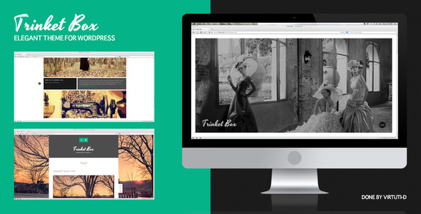 Trinket Box–Magazine-Blog WordPress Theme