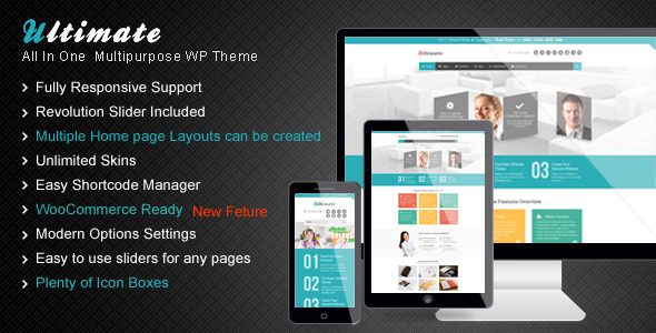Ultimate - A Unique Multipurpose WordPress Theme