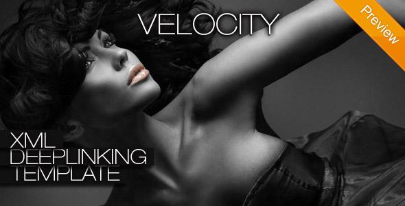 Velocity XML Deeplinking Template