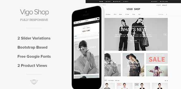 Vigo Shop - Responsive eCommerce Template