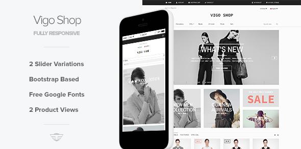25 best responsive virtuemart joomla templates designmaz vigo shop responsive ecommerce template maxwellsz