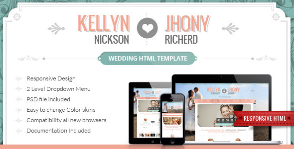 Wedding HTML template
