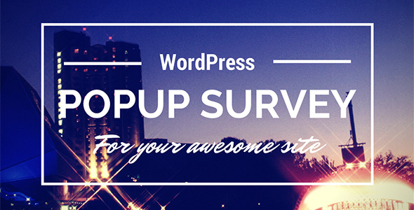 Wp Popup Survey