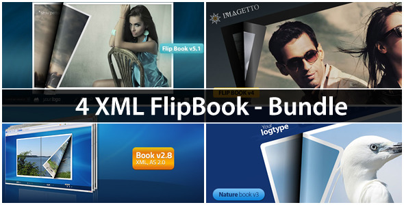 XML FlipBook - Bundle