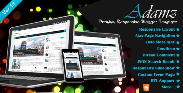 adamz-responsive-blogger-template