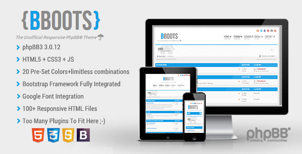 bboots-html5css3-fully-responsive-phpbb3-theme