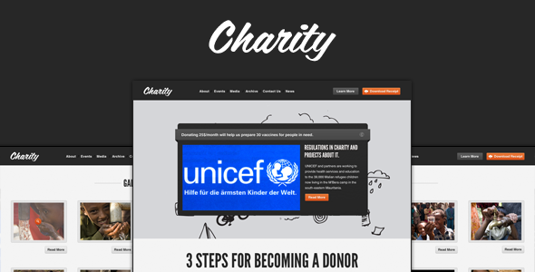 charity-nonprofitngo-template