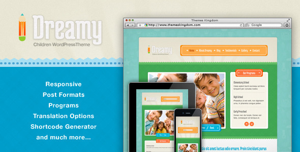 dreamy-responsive-children-wordpress-theme