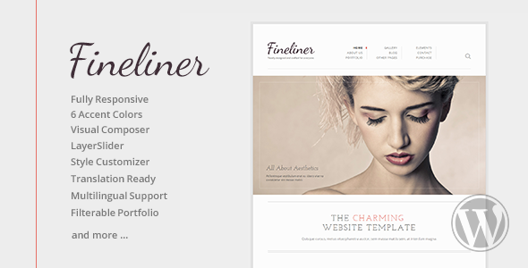 fineliner-responsive-portfolio-wordpress-theme