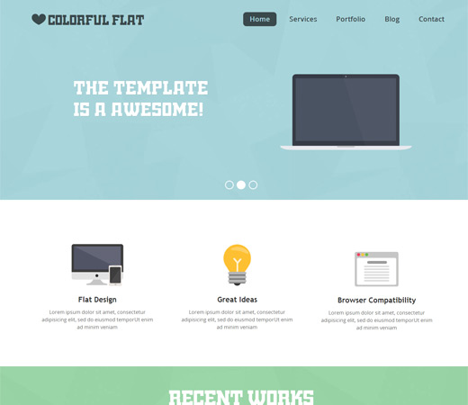 flat-single-page-responsive-web-template