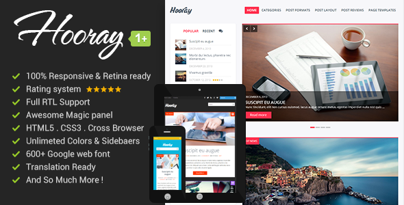 hooray-premium-wordpress-blog-theme