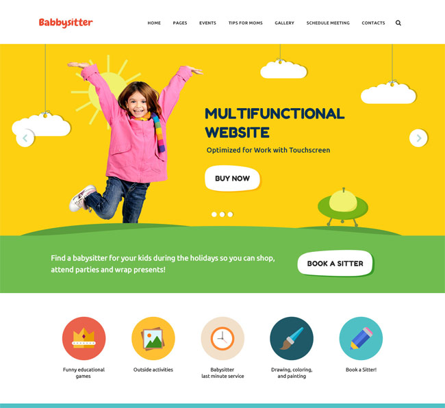 25+ Best Kid\'s WordPress Themes for Kindergarten and Elementary ...