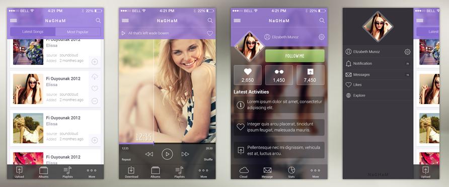 nagham-music-ios-7-app