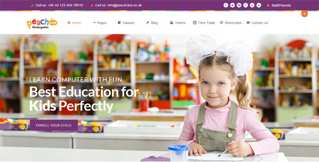 peachclub-kindergarten-childcare-wordpress-theme