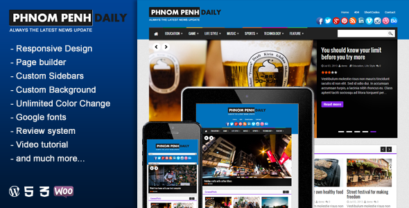 phnom-penh-daily-wordpress-blog-magazine-theme