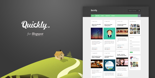 quickly-responsive-blogger-template