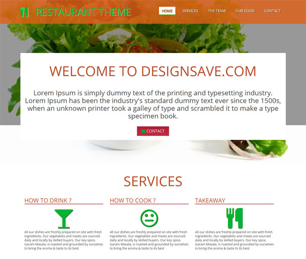 responsive-ds-restaurent-theme